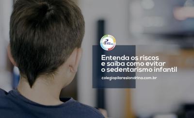Entenda os riscos e saiba como evitar o sedentarismo infantil