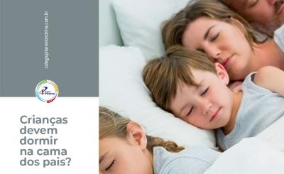 Crianças devem dormir na cama dos pais?